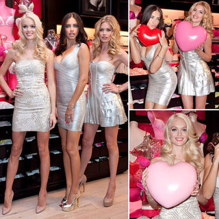 Adriana Lima, Doutzen Kroes and Linday Ellington Share Their Valentine's Day Style Tips: Shop the Victoria's Secret Angels'Look