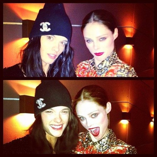 Celebrity Beauty Twitter Pictures from 2012 Fall New York Fashion Week, NARS Cosmetics, Coco Rocha, Jesinta Campbell  & More!