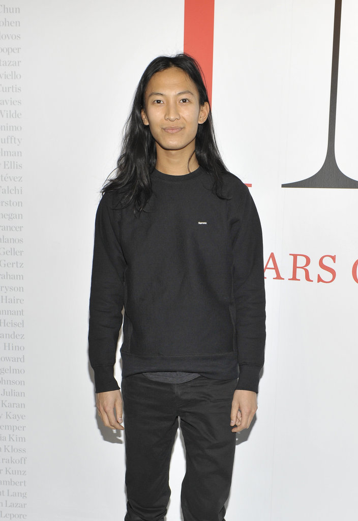 Alexander Wang at CFDA Exhibition.