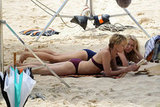 Naomi Watts and Robin Wright filming in Australia.
