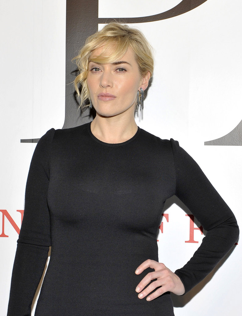 Kate Winslet at CFDA's new exhibition.