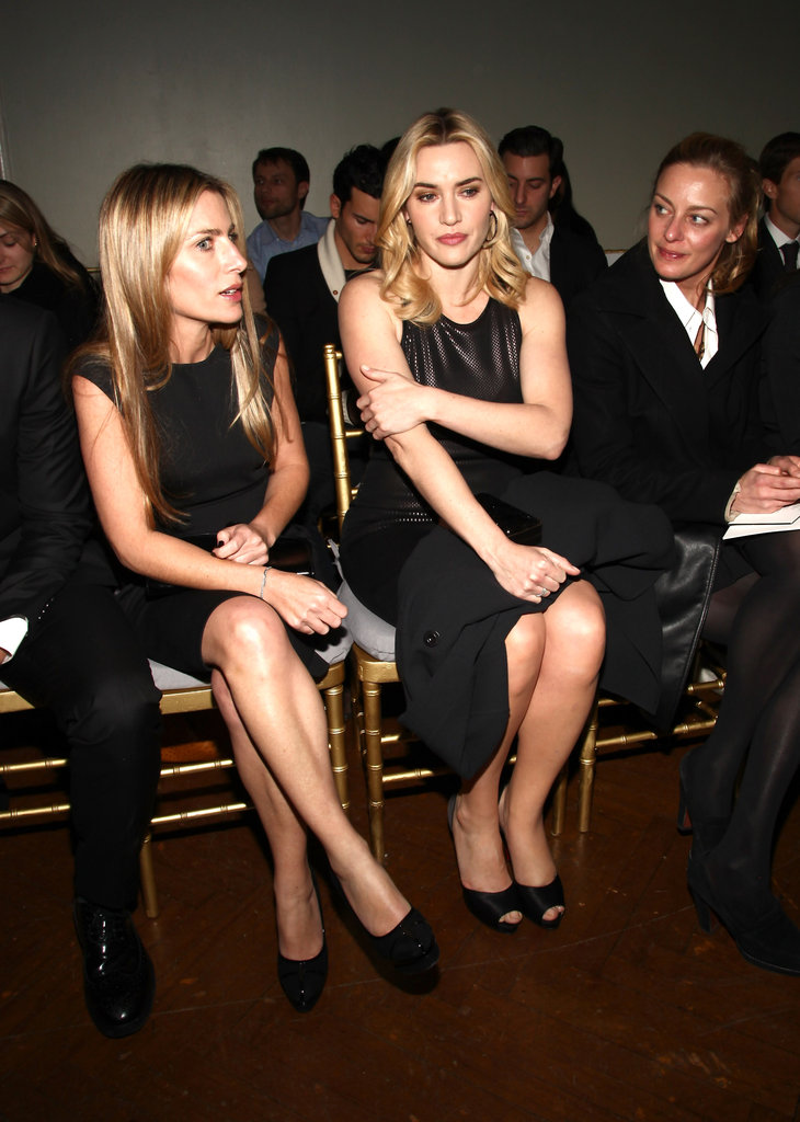 Kate Winslet at NY Fashion Week.