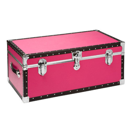 Footlocker with Tray Pink