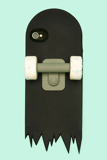 Black Skate Deck iPhone Case ($45)