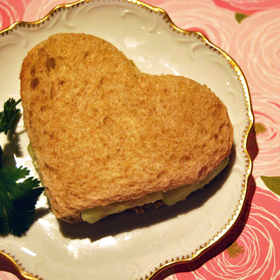 Heart-Healthy Cucumber Sandwich
