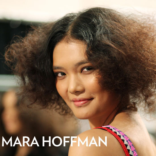 From Makeup Chair to Catwalk, See Mara Hoffman Models' Backstage Journey