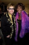 Elton John snapped a picture with Whitney in 2001.