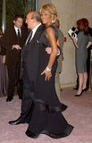 In 2006, she attended the Carousel of Hope Ball with Clive Davis.