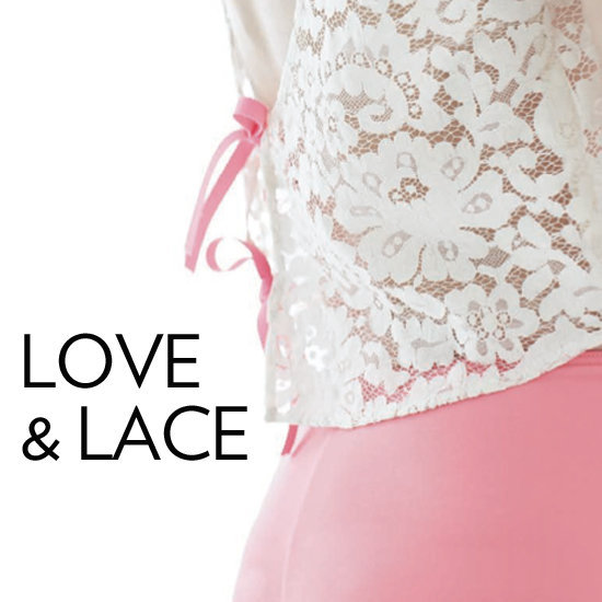 Shop the prettiest lingerie we could find before Valentine's Day!