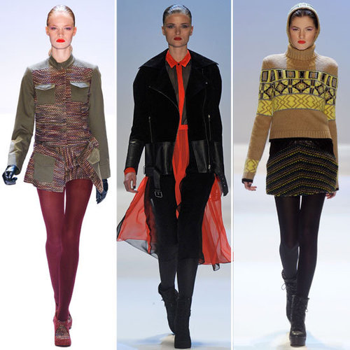 Runway Review and Pictures of Charlotte Ronson Fall 2012 New York Fashion Week Runway Show