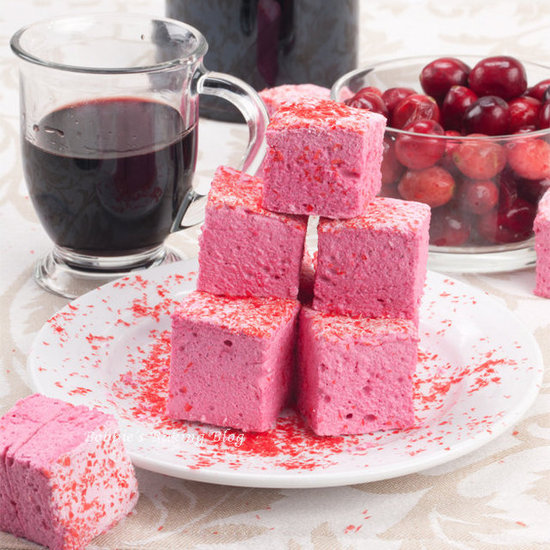 Cherry-Cassis Marshmallows
