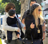 Rachel Zoe and Rodger Berman lunched with Skyler.