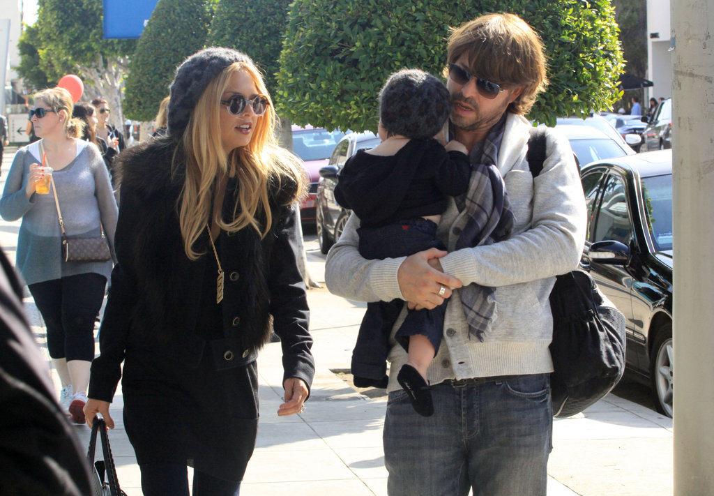 Rachel Zoe and Rodger Berman hung out in LA with their son.