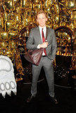 Tom Hiddleston posed at Mulberry.