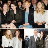 Michelle Williams Checks Out Mulberry With Lizzy Olsen, Lana Del Rey, and the Downton Girls
