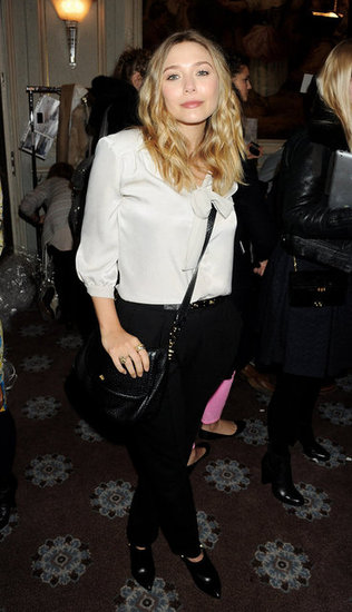 Elizabeth Olsen checked out Mulberry.