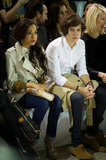 Dionne Bromfeld and Harry Styles at Aquascutum