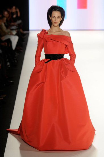 Carolina Herrera Runway Fall 2012