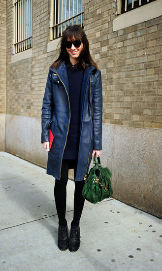 New York Fashion Week Street Style Fall 2012
