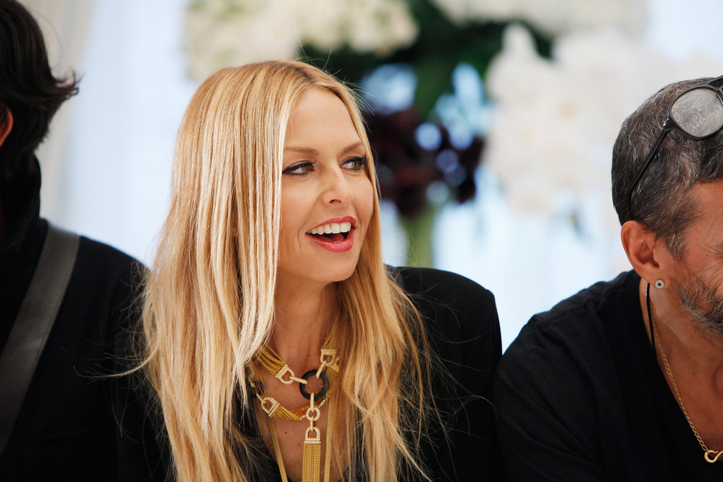 Rachel Zoe prepared her new Rachel Zoe Collection for the runway.