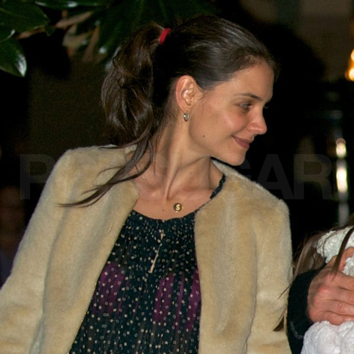 Katie Holmes ate at Bouchon.