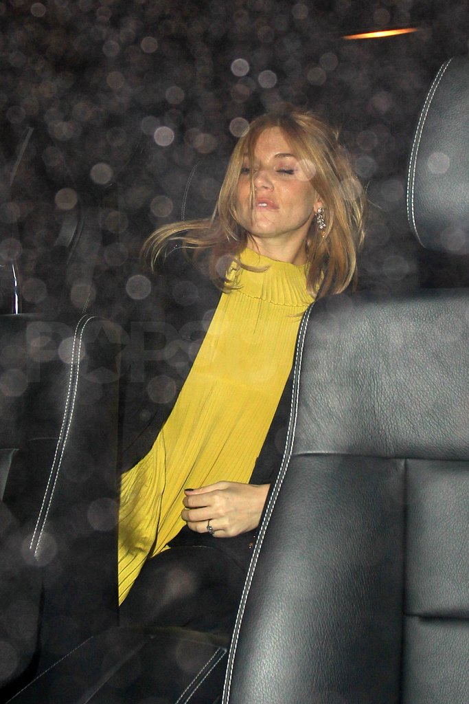 Is this pregnant Sienna Miller's engagement ring?