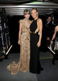 Gwyneth Paltrow caught up with good friend Taylor Swift.