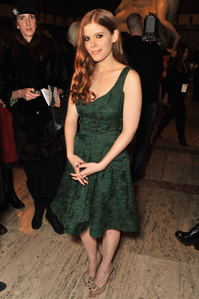 Kate Mara checked out Diane von Furstenberg.