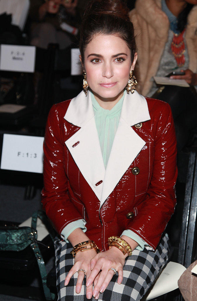 Nikki Reed attended NYFW.
