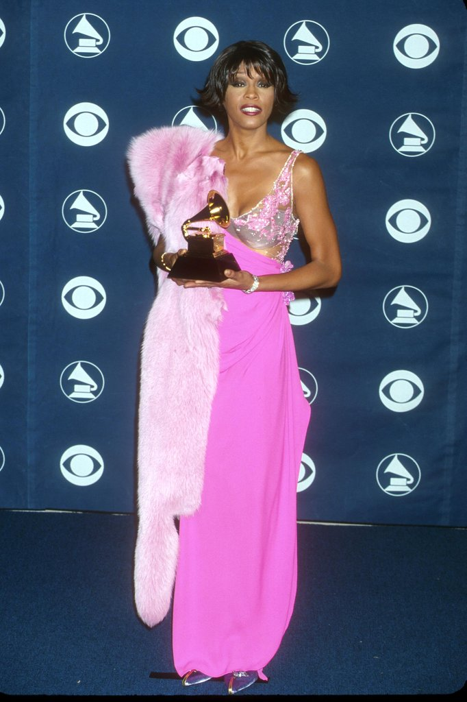 Whitney at the 42nd annual Grammy Awards in 2000.