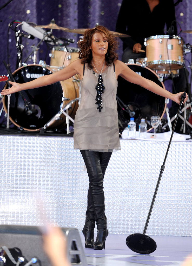 Performing at Good Morning America in 2009.