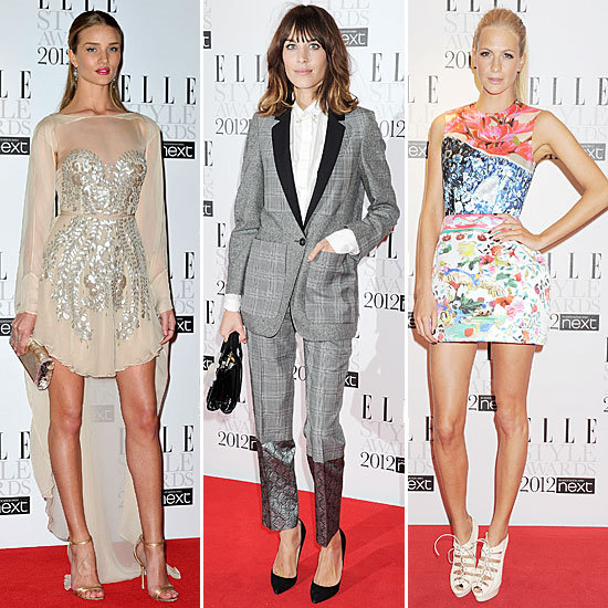 The Fashion Crowd Gets Glam For Elle's Style Awards