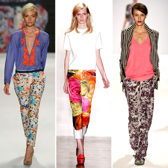 New Style Trend to Try: Floral Pants +Tees