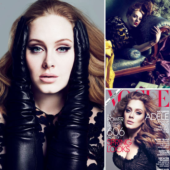 Adele Strikes a Pose For Vogue's March Issue