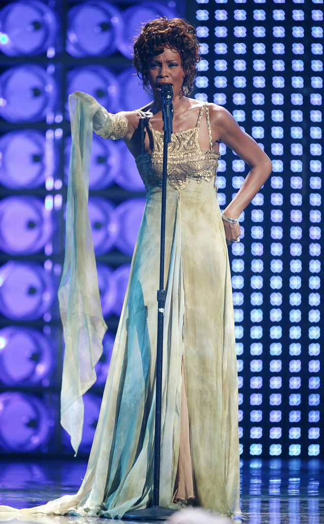 Whitney at the World Music Awards in 2004.