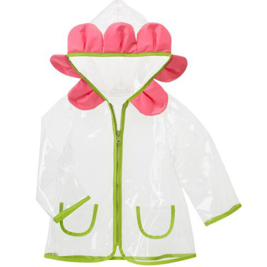 Gymboree Clear Daisy Hooded Raincoat ($39)