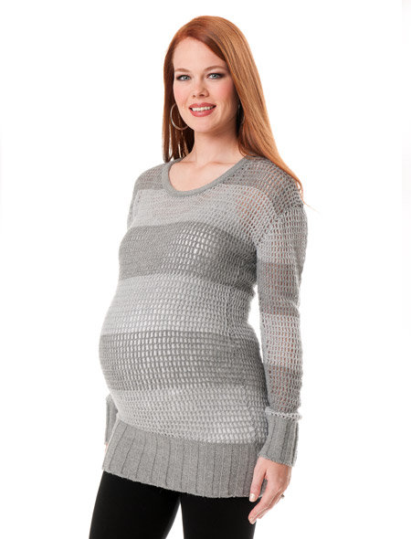 Maternity Interpretation: A Pea in the Pod Collection Boyfriend Fit Sweater ($80)