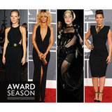 Gwyneth Paltrow, Rihanna, Lady Gaga & Alicia Keys Grammys Dresses