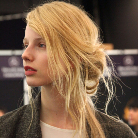 Skip the Brush With Fashion Week's Most Casual-Cool Up 'Do