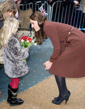 Kate Middleton got roses.