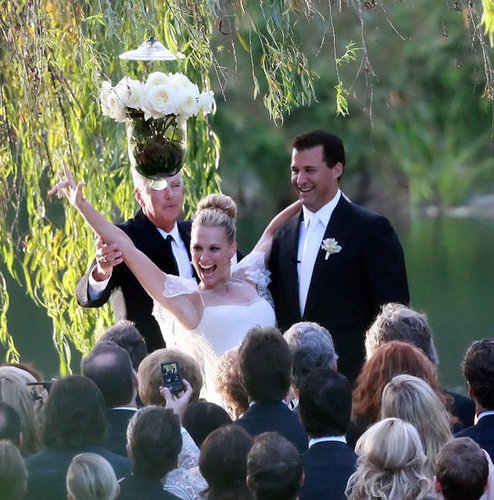 """Molly Sims and Scott Stuber said """"I do"""" in Napa, CA, during September 2011."""