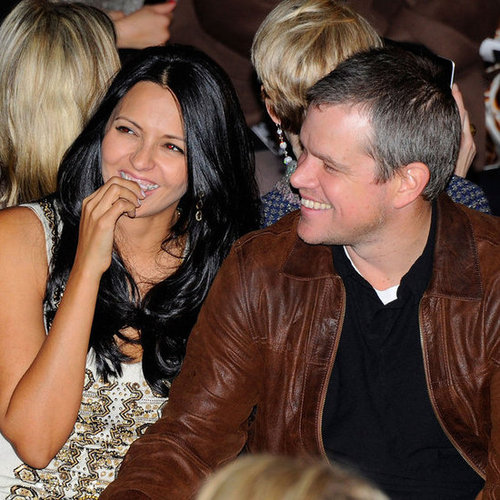 Matt Damon at Naeem Khan Fashion Week Presentation