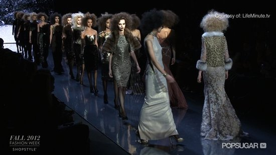 See the Major Glitz Factor on the Badgley Mischka Runway!