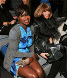 Viola Davis and Anna Wintour at Vera Wang