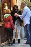 Vanessa Hudgens showed love to fans in Paris.