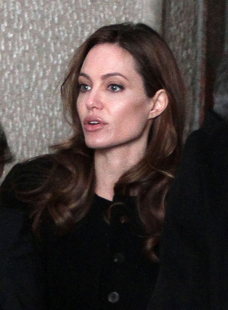 Angelina Jolie in Bosnia.