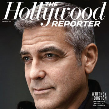 George Clooney Hollywood Reporter 2012 Pictures and Quotes