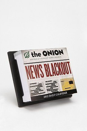 The Onion Blackout News Calendar ($15)