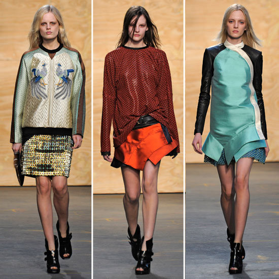 Proenza Schouler Runway Fall 2012