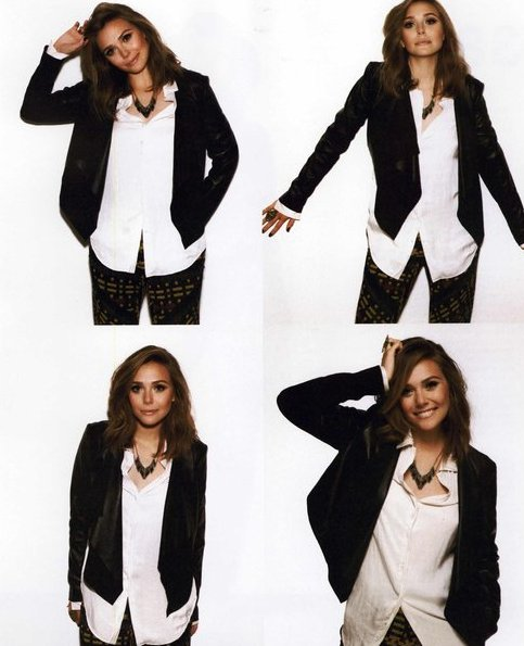 Elizabeth Olsen's Fashion Editorials